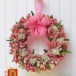 Dreamy Nursery Preserved Wreath