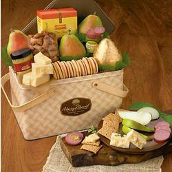 Sunshine Picnic Basket Gift Tin