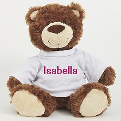 "Personalized 11"" Smiles Bear"