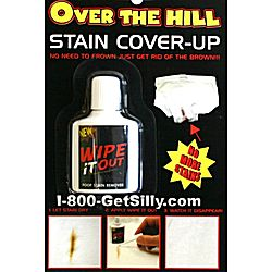 Over The Hill Stain Cover Up