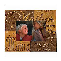 Mother Wooden Frame