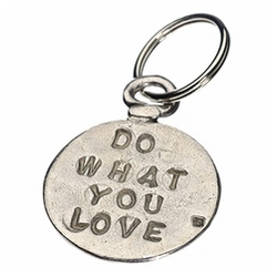 Do What You Love Key Ring