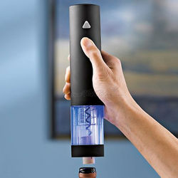 One Touch Blue-Lit Electric Wine Opener