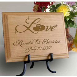 Personalized Love Wooden Plaque