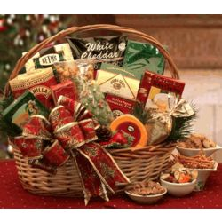 The Bountiful Gourmet Holiday Gift Basket