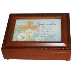 Ave Maria Godmother Music Box
