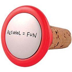 Alcohol = Fun Wine Stopper