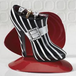 Shoe Shaped Ring Holder