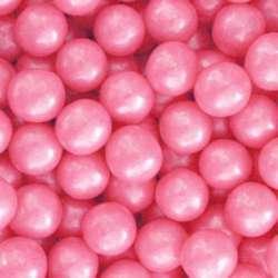 Hot Pink Shimmer Gumballs