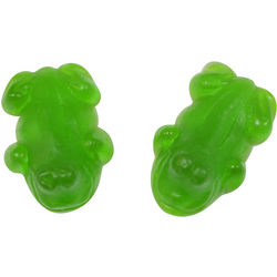 Green Gummy Frogs 4.4 Pounds