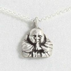 Happy Buddha Reminder Necklace