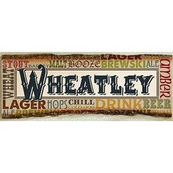 Personalized Alehouse Large Basswood Wall Plaque