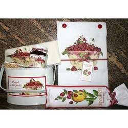 Raspberry Kitchen Gift Set