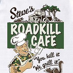 Roadkill Cafe Apron