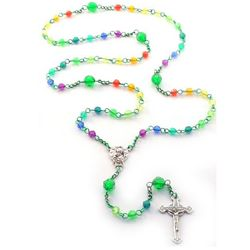 Green Rainbow Rosary