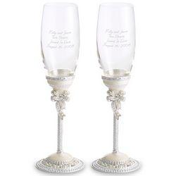 Tara Champagne Toasting Flutes