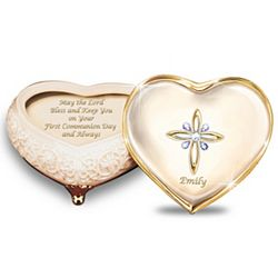 First Communion Blessings Personalized Music Box