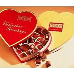 Valentine Sugar Free Chocolates Heart Box