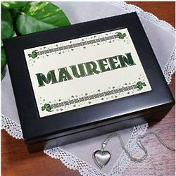 Personalized Celtic Keepsake Box