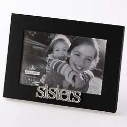 Sisters Black Wood Picture Frame