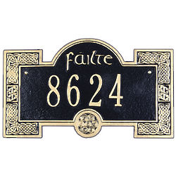 Personalized Failte Address Plaque