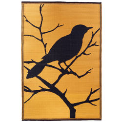 Bird Design Indoor or Outdoor Rug