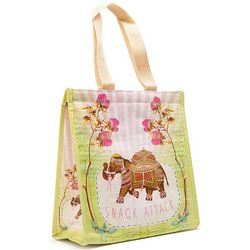 Elephant Snack Attack Insulated Lunch Bag