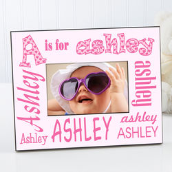 It's Me! Personalized Alphabet Name Frame