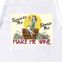 Make Me Wine Apron
