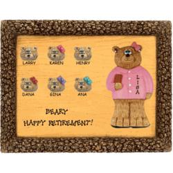 Personalized Retirement Plaque for Businessperson
