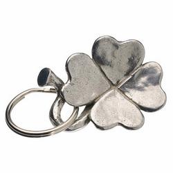 Good Luck Clover Key Ring
