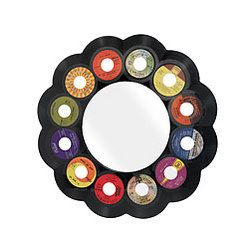 Reclaimed 45rpm Record Mirror