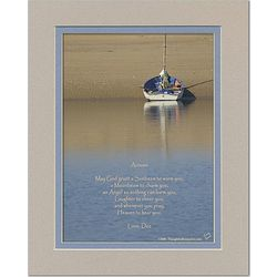 Family or Friend Poem Personalized Boat Print
