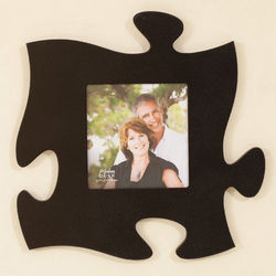 Puzzle Piece Single Photo Frame