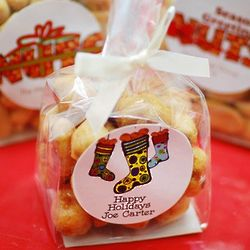 Personalized Nuts Party Favors