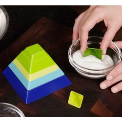 Stackable Measuring Cups Pyramid