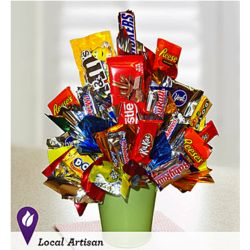 Sweet Sensations Candy Bouquet