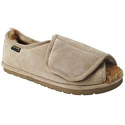 Women's Adjustable Velcro Sheepskin Slippers