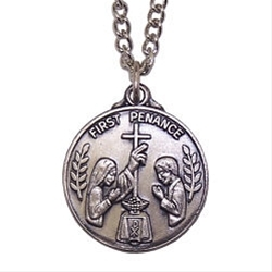First Penance Personalized Necklace