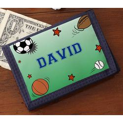 Sports Fan Personalized Wallet