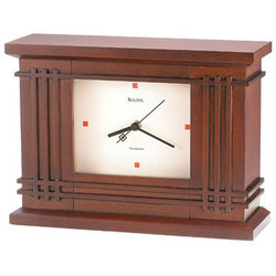 Martin Wood Frank Lloyd Wright Clock