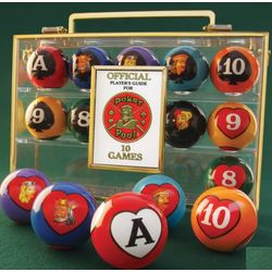 Card Game Billiard Balls