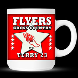 Personalized Cross Country or Track Mug