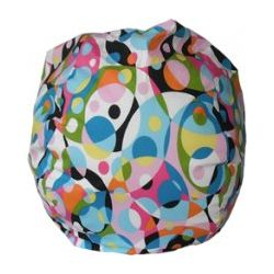 Kaleidescope Wild Bean Bag Chair