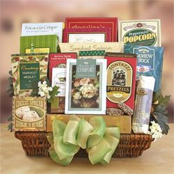 Our Condelences Sympathy Gift Basket