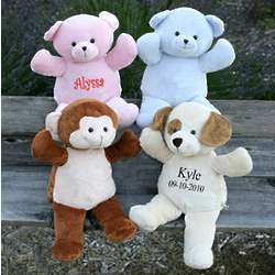 Personalized Plush Pals