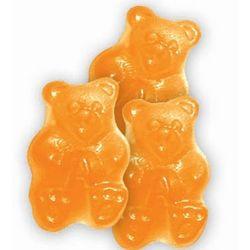 Ornery Orange Gummi Bears in a 5 Pound Bag
