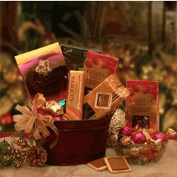 Godiva Christmas Chocolate Gift Basket
