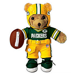 The Green Bay Packers Coaching Teddy Bear