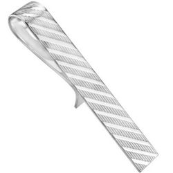 Men's Tie Bar in Sterling Silver